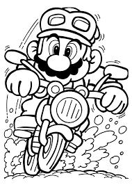 Mario Kart Coloring Pages Bowser Mario Kart Coloring Mario Kart