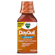 Cough Cold And Flu Relief 12 Ounce