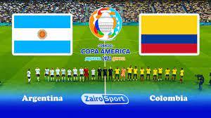 موعد مباراة الأرجنتين وكولومبيا في نصف نهائي كوبا أمريكا 2021 والقنوات  الناقلة