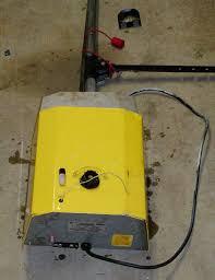 impressive yellow transmitter stanley garage door opener parts