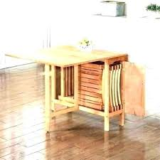 folding dining table with chairs inside chair set room uk