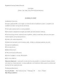 Nursing Student Resume Entry Level Student Resume Entry Level Nurse ...