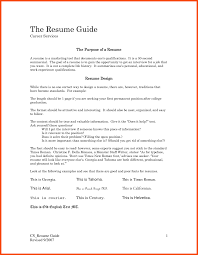 A Job Resume first job resume program format 48