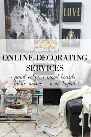 Interior Design Vs Interior Decorating Online Decorating Services and Color Advice Setting for Four 77