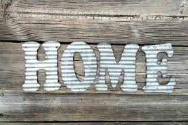 galvanized wall art metal letters home industrial decor kitchen pipe nz in