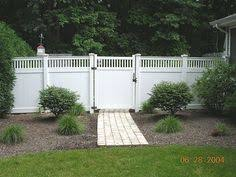 Interesting Vinyl Privacy Fence Ideas Search Results Brooks Street House With Inspiration Decorating