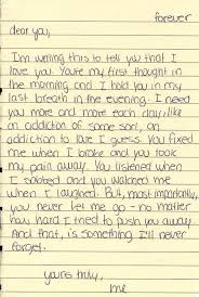 Cute Love Letter For The One You