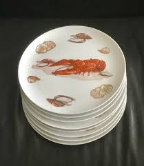 Lobster Dinner Plates & Rock Lobster ...