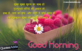 Best Gud Morning Quotes In Hindi