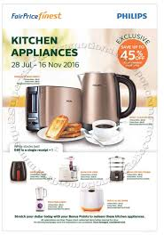 Kitchen Appliances Singapore Ntuc Fairprice Finest Philips Kitchen Appliances Promotion 28 July