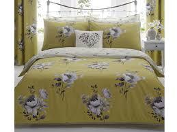 dunelm mill liana ochre quilt cover set from 18 dunelm