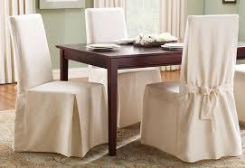 stylish sure fit cotton duck full length dining room chair slipcover dining room chair slipcover prepare