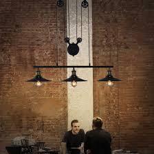 pulley pendant lighting. Vintage Industrial Adjustable Pulley Hanging Light Loft Cluster Pendant Lamp | EBay Lighting E
