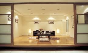 japanese minimalist furniture. Furniture:Modern Japanese Interior With Square Brown Wood Tea Table And Floor Cushions Minimalist Furniture