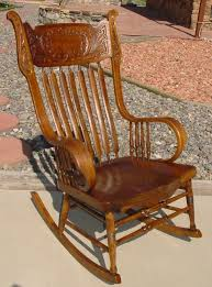 sorry this item is murphy chair co pressed back rocking chair w rolled arms a manly rocker in room ready condition this beautiful rocking chair was