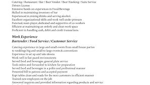 Stylish And Peaceful Restaurant Server Resume 12 Bartender