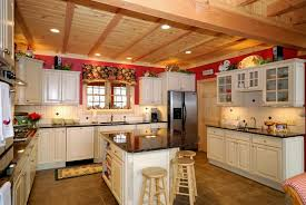 country kitchen black grnaite countertops arlington tx
