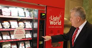 Used Vending Machines Utah Interesting Vending Machines Offer Chance To Give Instead Of Get Part Of 'Light