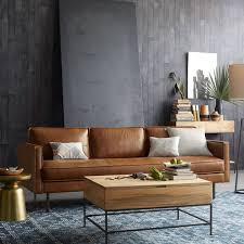axel leather sofa 226 cm saddle modern leather sofas86 modern