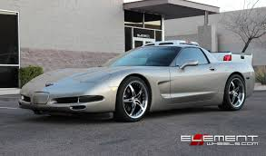 19 inch Staggered MRR GT5 2005 Chevy Corvette C5 w/ Specs Wheels