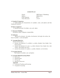 Resume Lessons For High School