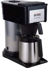 Everyday low prices, save up to 50%. Amazon Com Bunn 10 Cup Thermofresh Home Brewer 900 W 10 Cup S Black Silver Stainless Steel Kitchen Dining