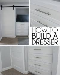 built in dresser in closet cool closet chest of drawers home coming how to build a built in dresser in closet