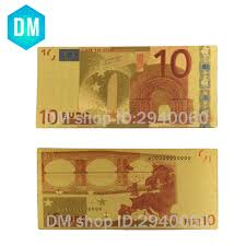 Hot Sale Euro <b>Banknote BANK NOTE</b> 10 Euro <b>Color Banknotes</b> ...