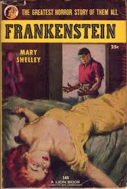 one of many so called clic editions of the book from airmont published in 1963 frankenstein book cover 1818 frankenstein