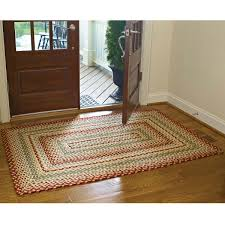 mill village cotton braided rugs