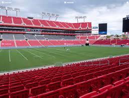 Raymond James Stadium Seating Chart Concert Raymond James Stadium Section 134 Seat Views Seatgeek