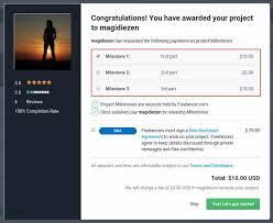 Proposed Milestones Freelancer Blog