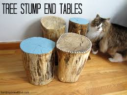 tree stump furniture. Tree Stump Furniture | Stephanie Marchetti Sandpaper \u0026 Glue, A Home And Lifestyle Blog O