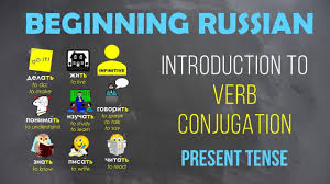 Beginning Russian Introduction To Verb Conjugation