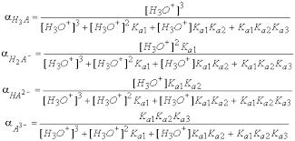 Titration Formula Triprotic Acid Titration Examples