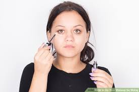 image led do your makeup for skiing step 1