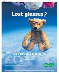 creative advertising examples for digital print media  able specsavers newspaper ad able specsavers newspaper ad
