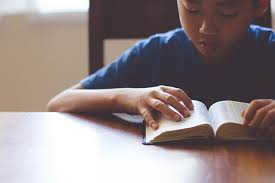 Image result for picture of parent reading Bible to children