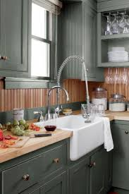 Kitchen Design Colors 17 Best Ideas About Green Cabinets On Pinterest Green Kitchen