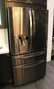 lg black stainless steel refrigerator. Fridge Lg Launches New Black Stainless Steel Series · \u2022. Lummy Refrigerator ;