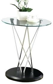 chrome accent table monarch specialties round glass top accent table in chrome round glass end table monarch metal accent table white chrome