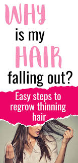 how to regain hair loss from stress