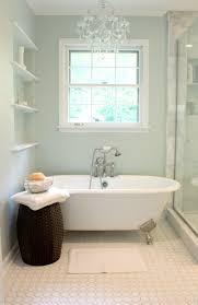 Exquisite Bathroom Interior Decoration With Painting Clawfoot Tub Design :  Astounding Bathroom Interior Decoration Plan With