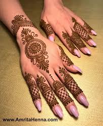 Mehndi Girls Design Mendhi Finger Henna Designs Finger Henna Simple Henna Tattoo