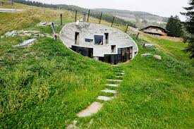 Subterranean House 5 Houses Built Into Hills Thatll Convince You To Move Underground