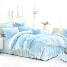 bedding sets a solid light blue king size duvet cover check and white color blocking fluffy white king size duvet cover