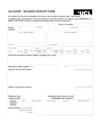 Sample Police Report Template Free Word Documents Accident
