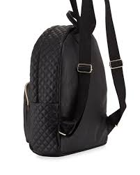 Betsey Johnson Buy a Vowel Quilted Faux-Leather Backpack, Black & Buy a Vowel Quilted Faux-Leather Backpack, Black Adamdwight.com