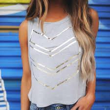 Fashion <b>women's</b> sling <b>T</b>-<b>shirt summer women's</b> loose print ...