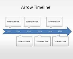 Timeline Slides In Powerpoint Free Arrow Timeline Diagram Powerpoint Template
